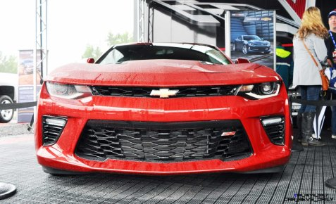 2016 Chevrolet CAMARO SS Shows Chisel-Flow Redesign at Petit Le Mans 1