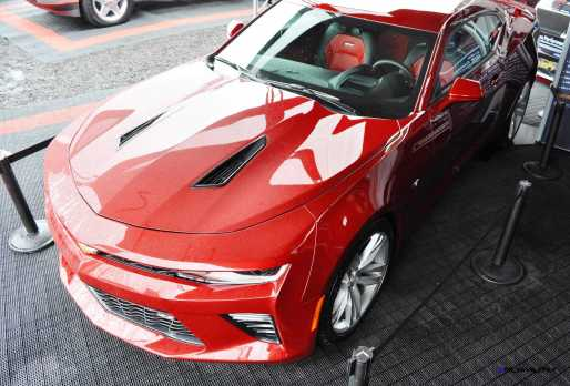 2016 Chevrolet CAMARO SS Shows Chisel-Flow Redesign at Petit Le Mans 15