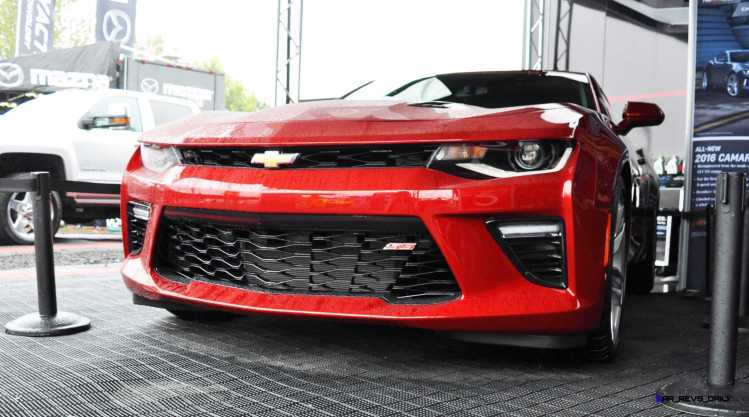 2016 Chevrolet CAMARO SS Shows Chisel-Flow Redesign at Petit Le Mans 7