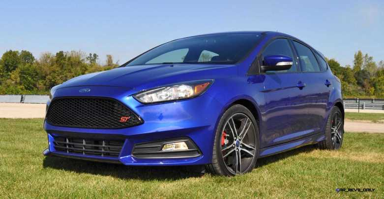 2016 Ford FOCUS ST Kona Blue 105