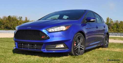 2016 Ford FOCUS ST Kona Blue 106