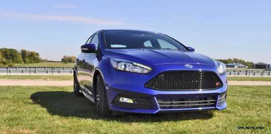 2016 Ford FOCUS ST Kona Blue 12