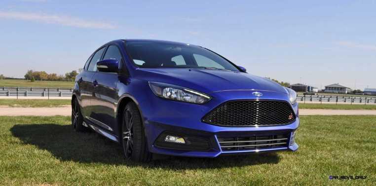 2016 Ford FOCUS ST Kona Blue 13