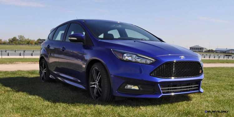 2016 Ford FOCUS ST Kona Blue 14