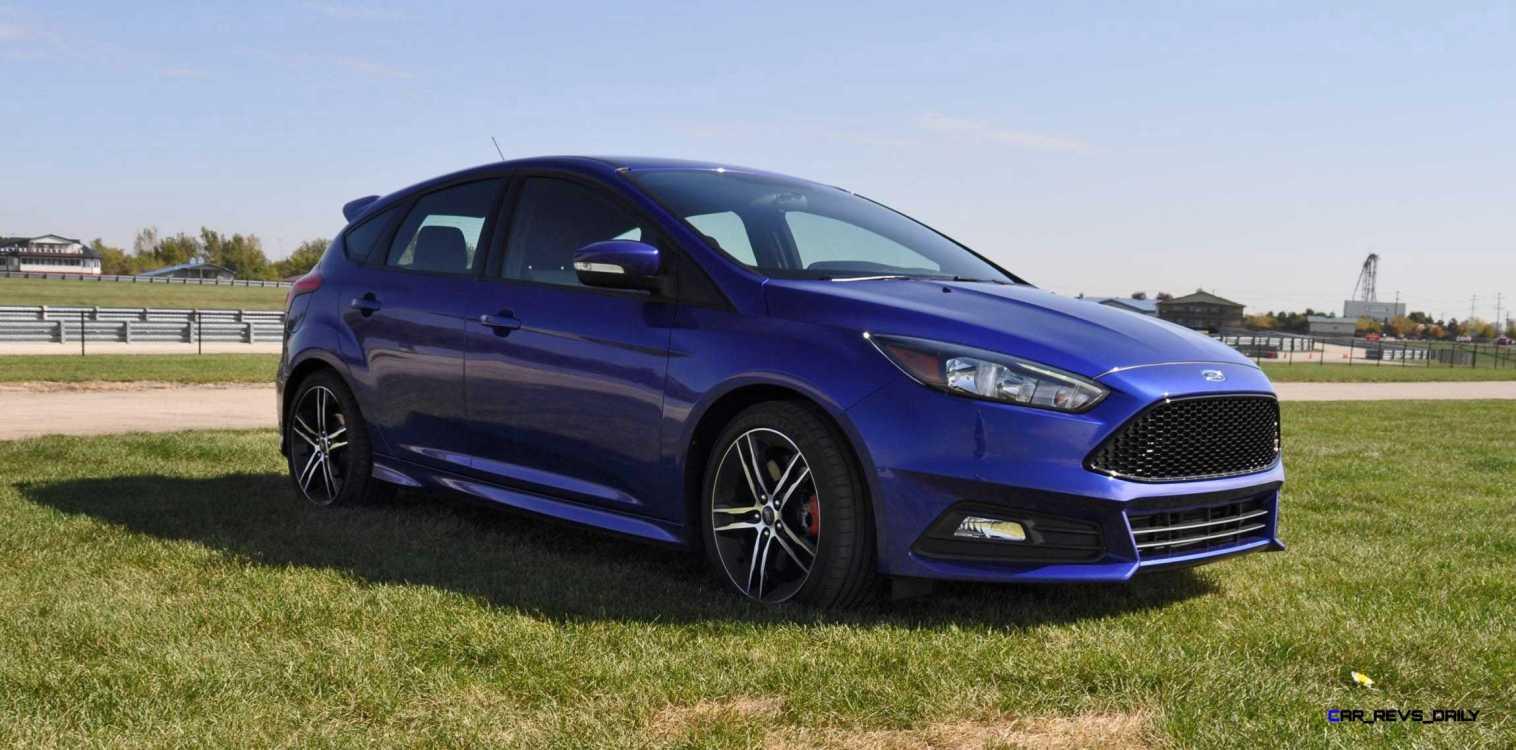 2016 Ford FOCUS ST Kona Blue 16