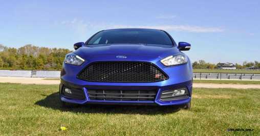 2016 Ford FOCUS ST Kona Blue 3