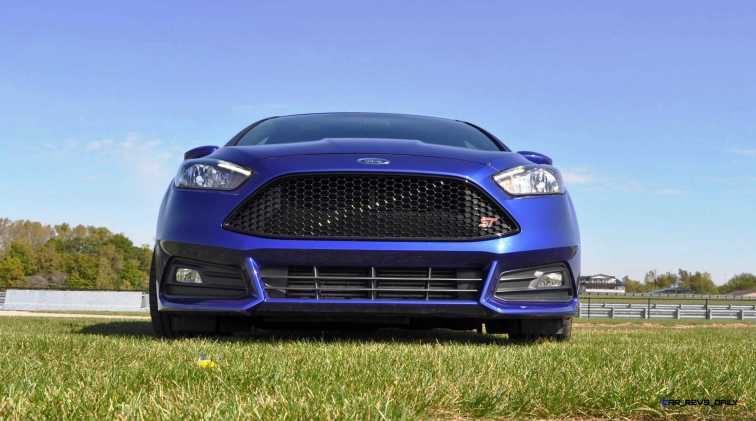 2016 Ford FOCUS ST Kona Blue 5