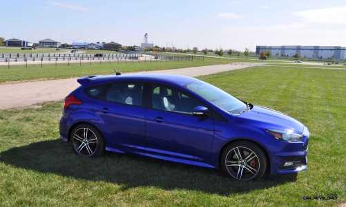 2016 Ford FOCUS ST Kona Blue 88