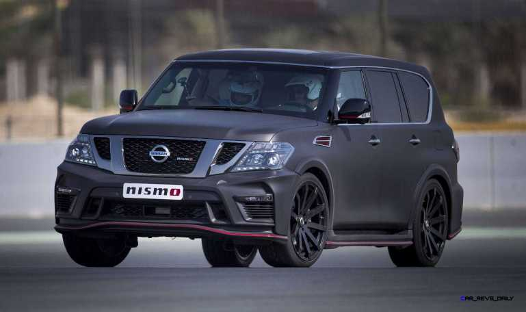 2016 Nissan Patrol NISMO Black 34
