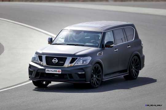 2016 Nissan Patrol NISMO Black 39