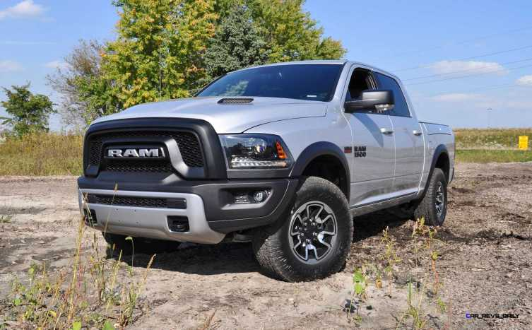 2016 RAM Rebel Silver 16