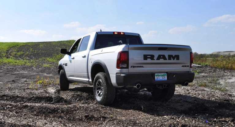 2016 RAM Rebel Silver 34
