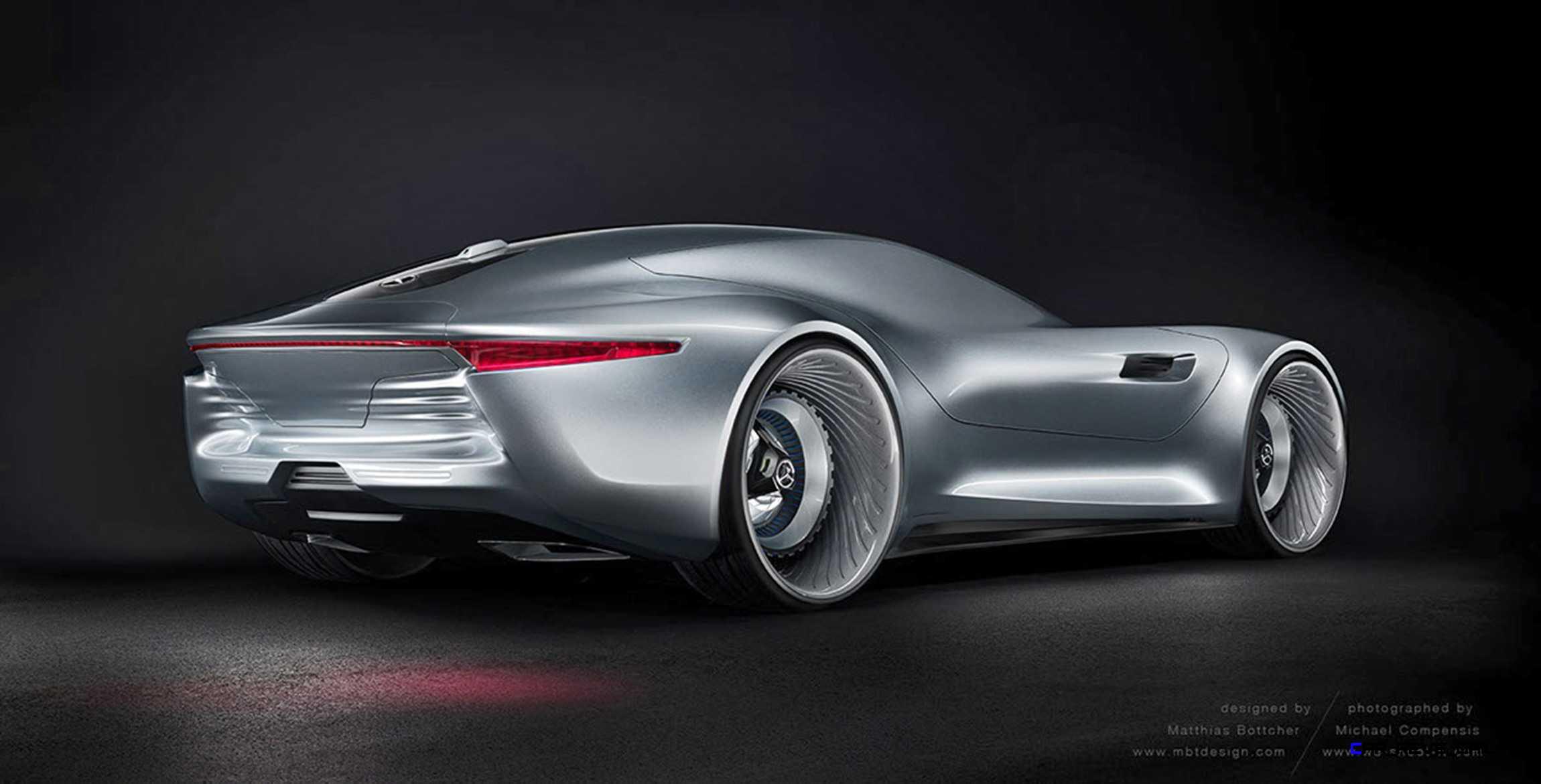 2020 Mercedes Benz SL PURE Concept By Matthias Bttcher 12