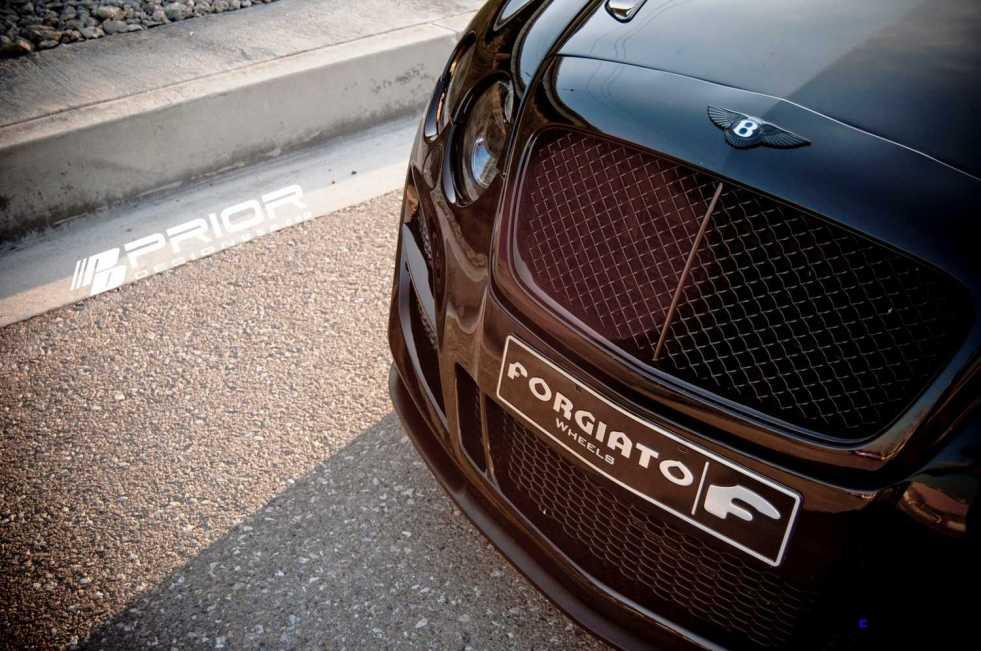 Prior Design Bentley Continental GT GTC Aerodynamics in gloss black_6841258313_o