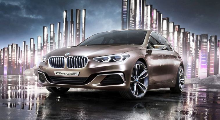 2015 BMW Concept Compact Sedan 1