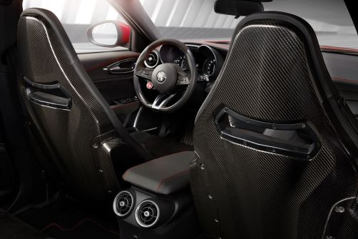 2016 Alfa Romeo GIULIA Interior 20