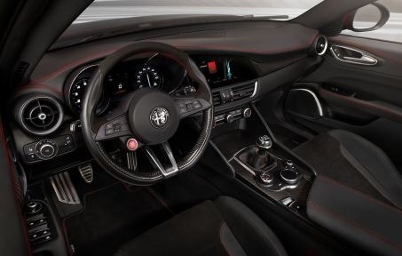 2016 Alfa Romeo GIULIA Interior 8