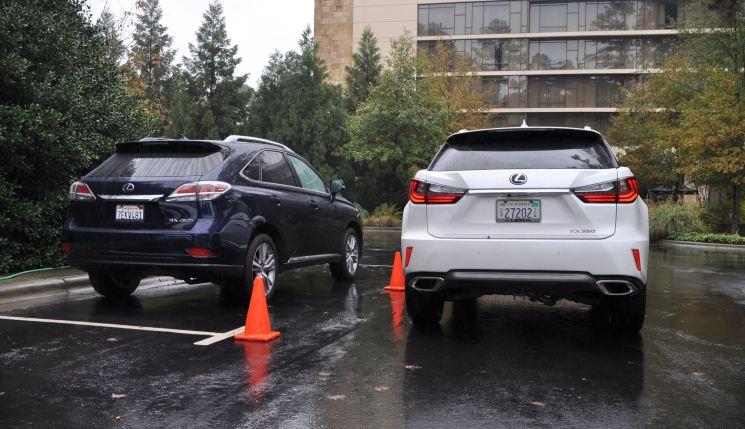 2016 Lexus RX vs 2015 model 8