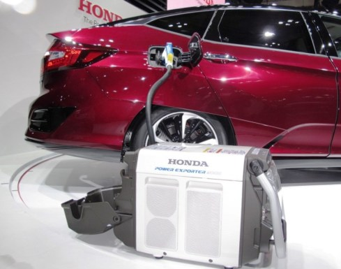 2017 Honda CLARITY FUEL CELL 7