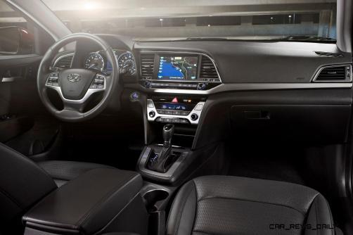 2017 Hyundai ELANTRA Sedan Interior 14