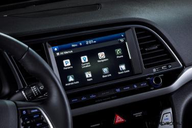 2017 Hyundai ELANTRA Sedan Interior 20
