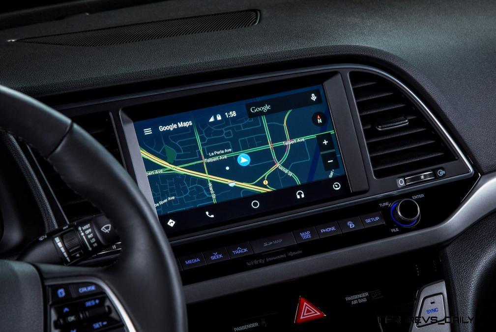 2017 Hyundai ELANTRA Sedan Interior 21