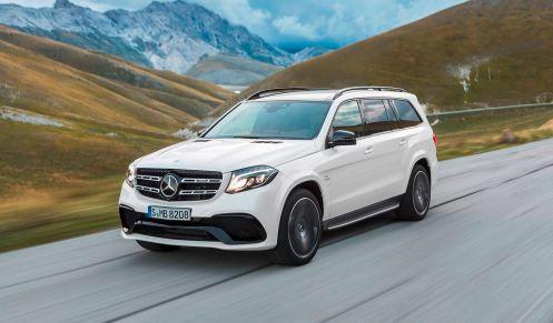 2017 Mercedes-Benz GLS 5