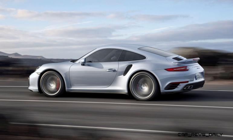 2017 Porsche 911 Turbo 3