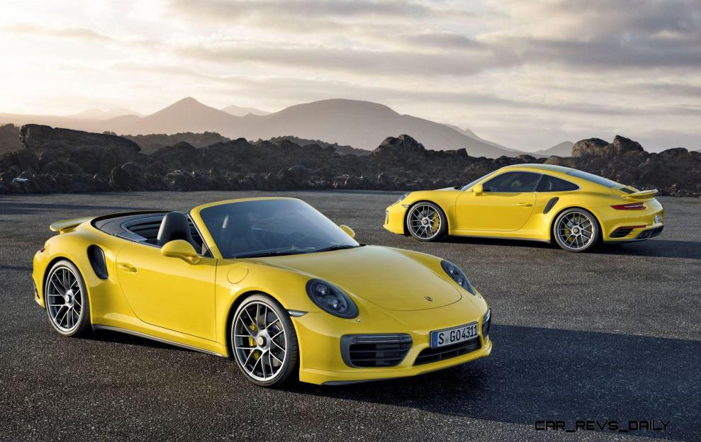 2017 Porsche 911 Turbo 4