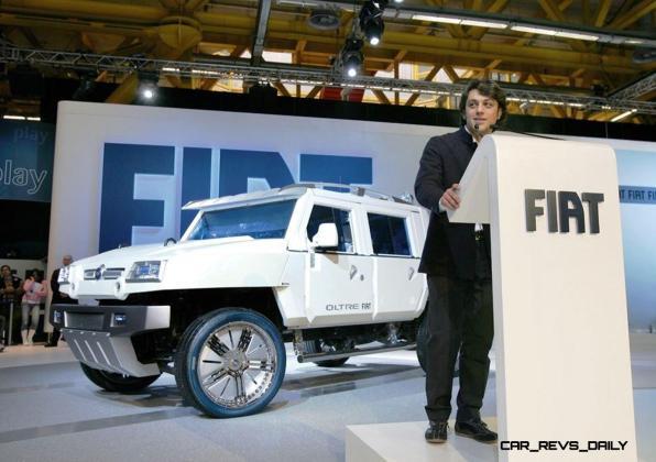 Concept Flashback - 2005 Fiat OLTRE 13