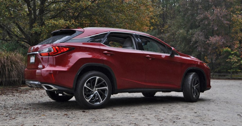 First Drive Review - 2016 Lexus RX350 FWD Luxury Package 100