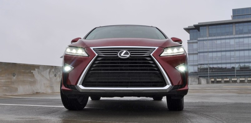First Drive Review - 2016 Lexus RX350 FWD Luxury Package 14