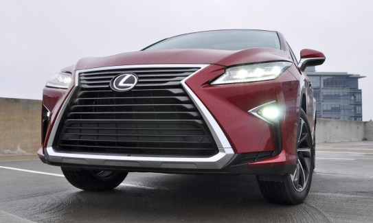 First Drive Review - 2016 Lexus RX350 FWD Luxury Package 24