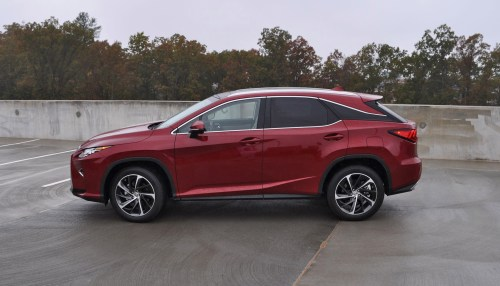 First Drive Review - 2016 Lexus RX350 FWD Luxury Package 38