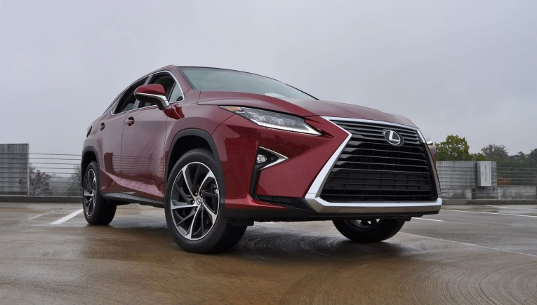 First Drive Review - 2016 Lexus RX350 FWD Luxury Package 56