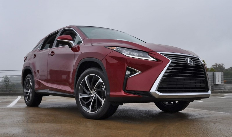 First Drive Review - 2016 Lexus RX350 FWD Luxury Package 57