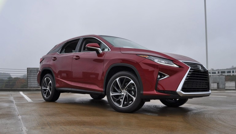 First Drive Review - 2016 Lexus RX350 FWD Luxury Package 58