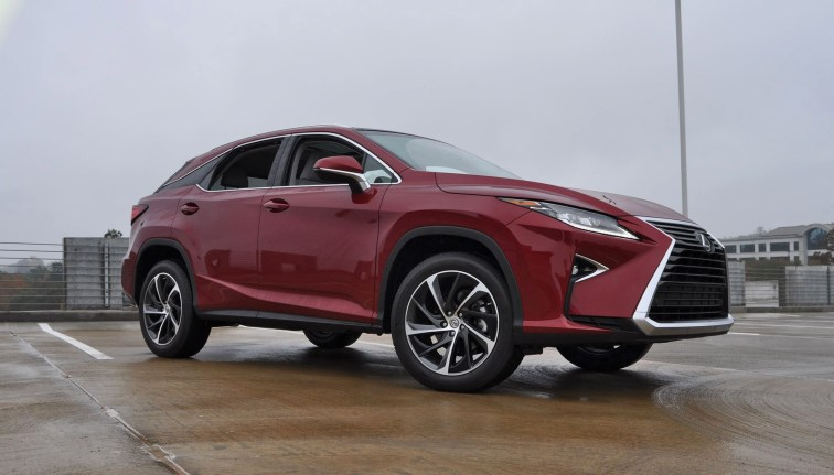 First Drive Review - 2016 Lexus RX350 FWD Luxury Package 59