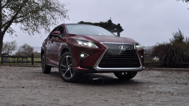 First Drive Review - 2016 Lexus RX350 FWD Luxury Package 92