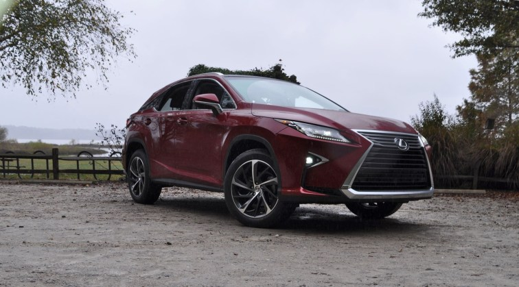 First Drive Review - 2016 Lexus RX350 FWD Luxury Package 93