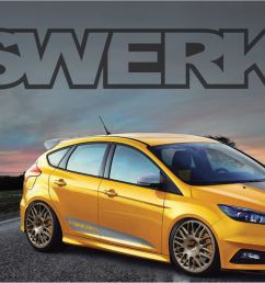 ford focus st by fswerks [ 2300 x 1332 Pixel ]