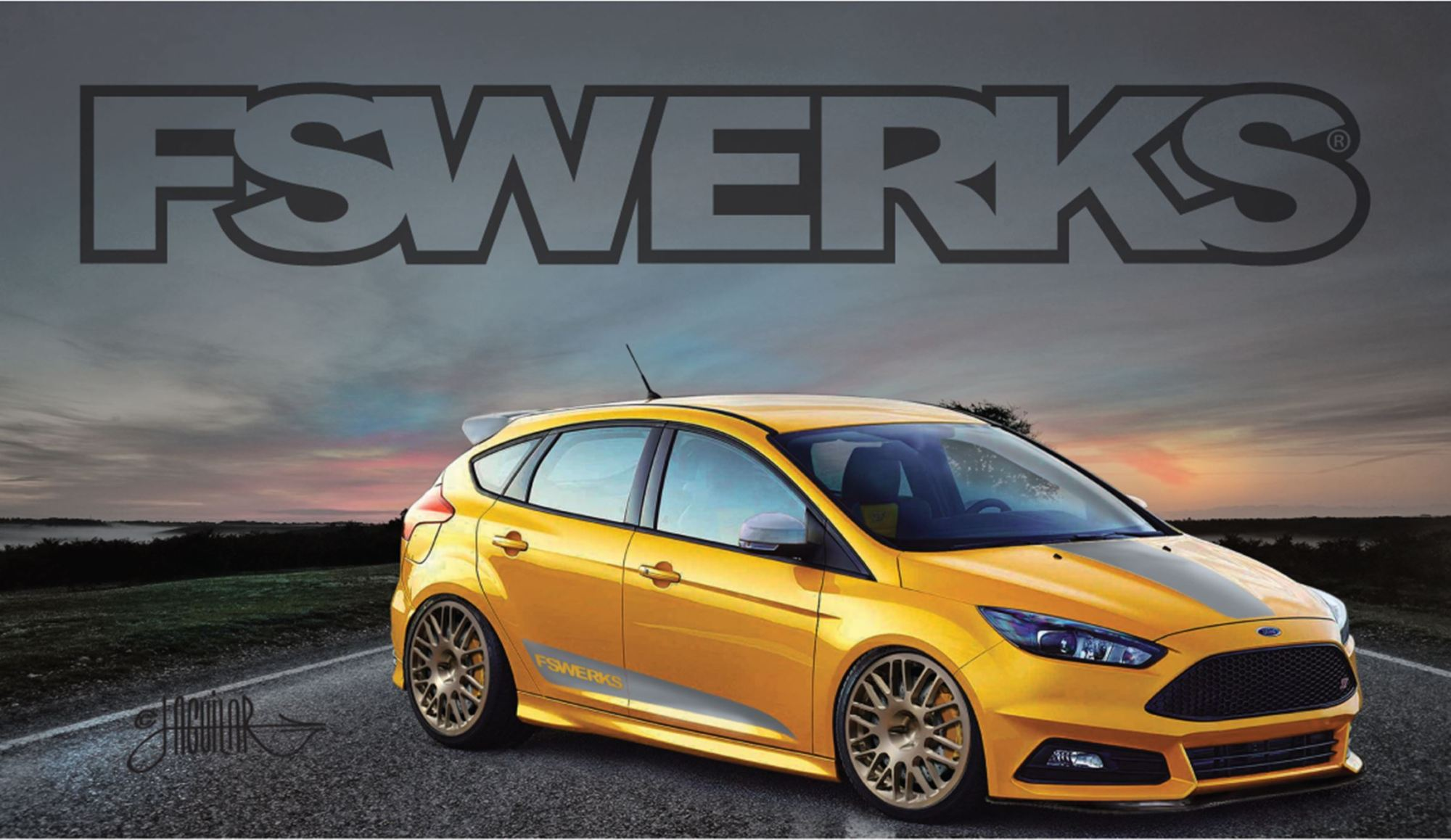 hight resolution of ford focus st by fswerks