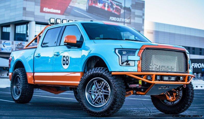 Ford SEMA 2015 Custom TRUCKS 11