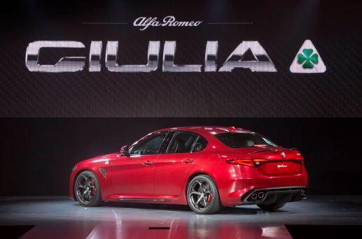 Hottest LA Debuts - 2016 Alfa Romeo GIULIA Quadrifoglio 4