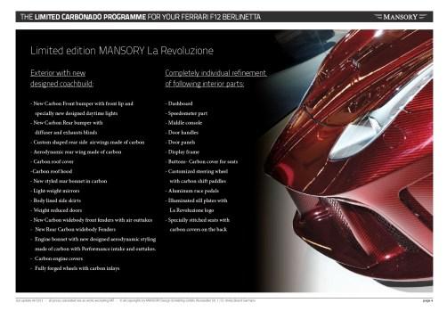 MANSORY Ferrari F12 Revoluzione 14