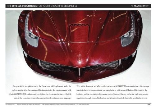 MANSORY Ferrari F12 Revoluzione 15