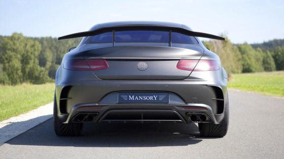 MANSORY S63 Black Edition Coupe 14