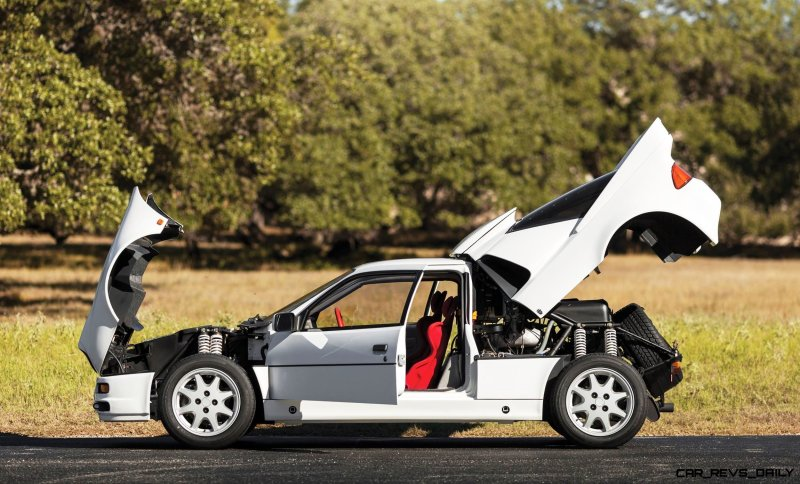 RM NYC 2015 - 1986 Ford RS200 - Final Road-Legal Group B Rally Star 21