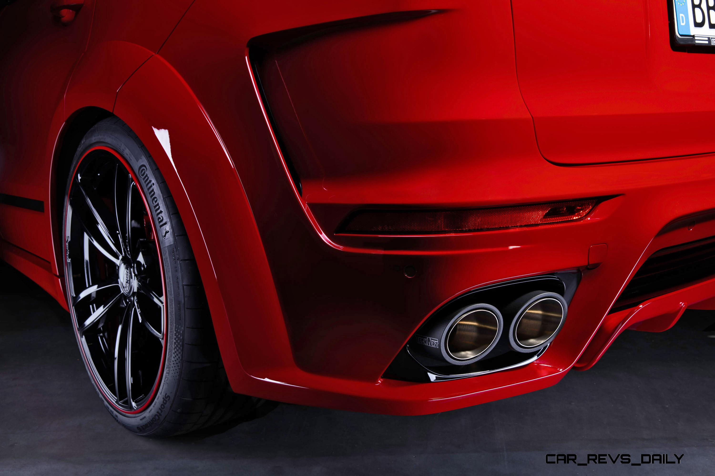 700hp Techart Magnum For Porsche Cayenne Is New 40s Flagship Car