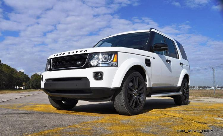 2016 Land Rover LR4 Discovery HSE Black Package 45